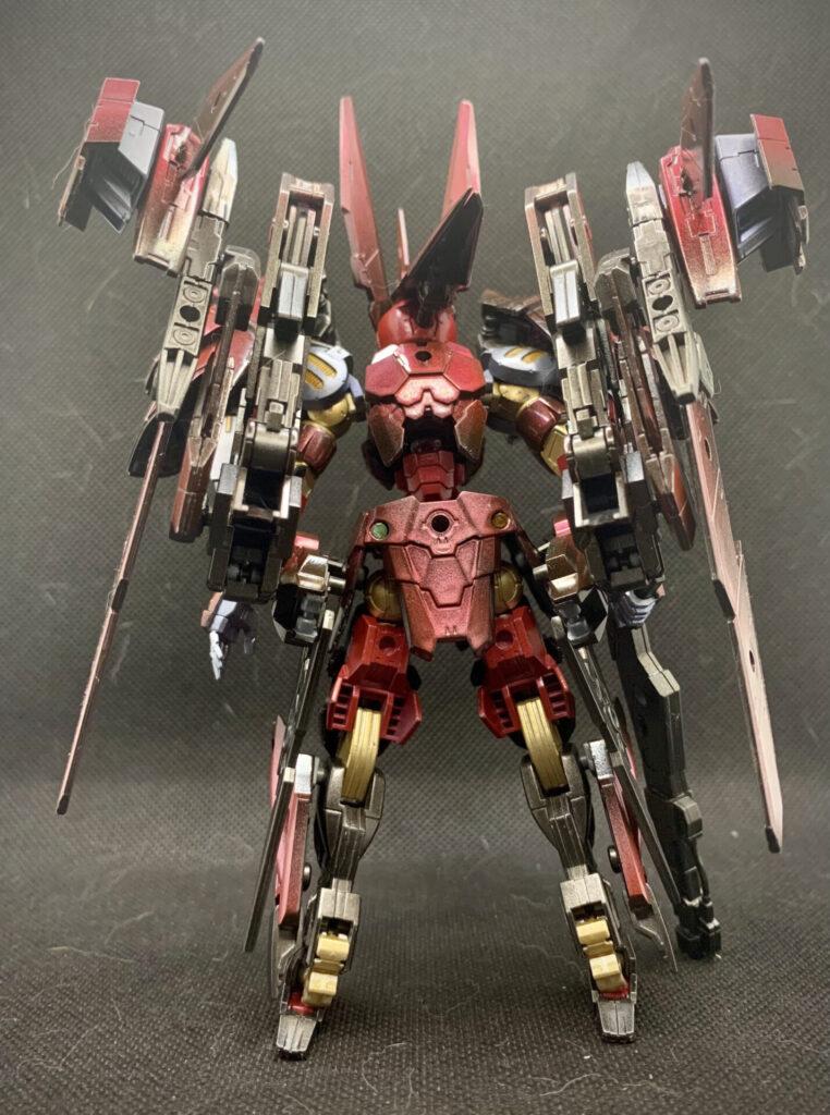 スピナティオ【ZERO】Wフライトユニット バック