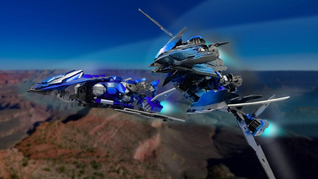 スピナティオ117号機【F2型】テストフライト