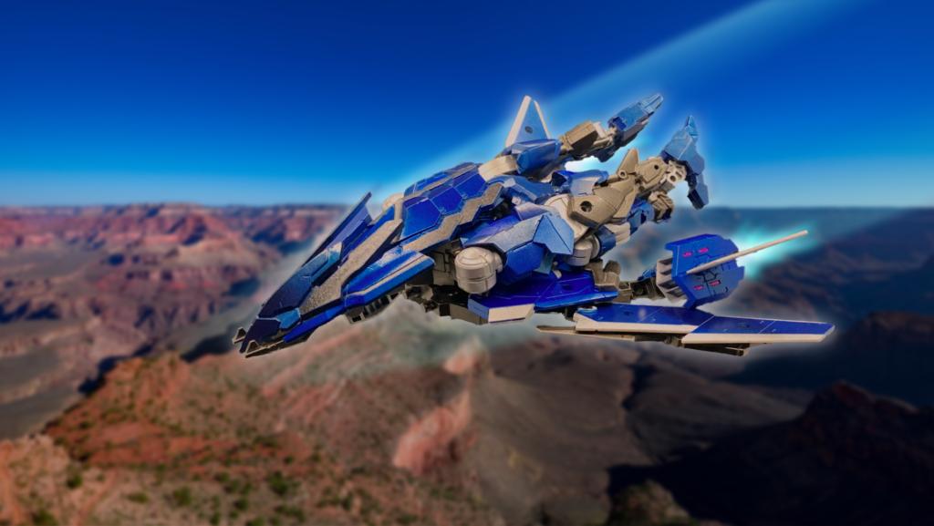 スピナティオ 117号機【F2型】飛行形態